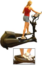 crosstrainer machine gym exercise
