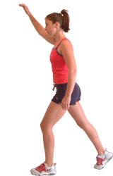 Spotty Dogs aerobics move.